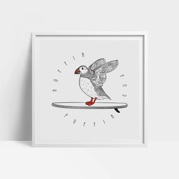 Huffin And Puffin Wall Art